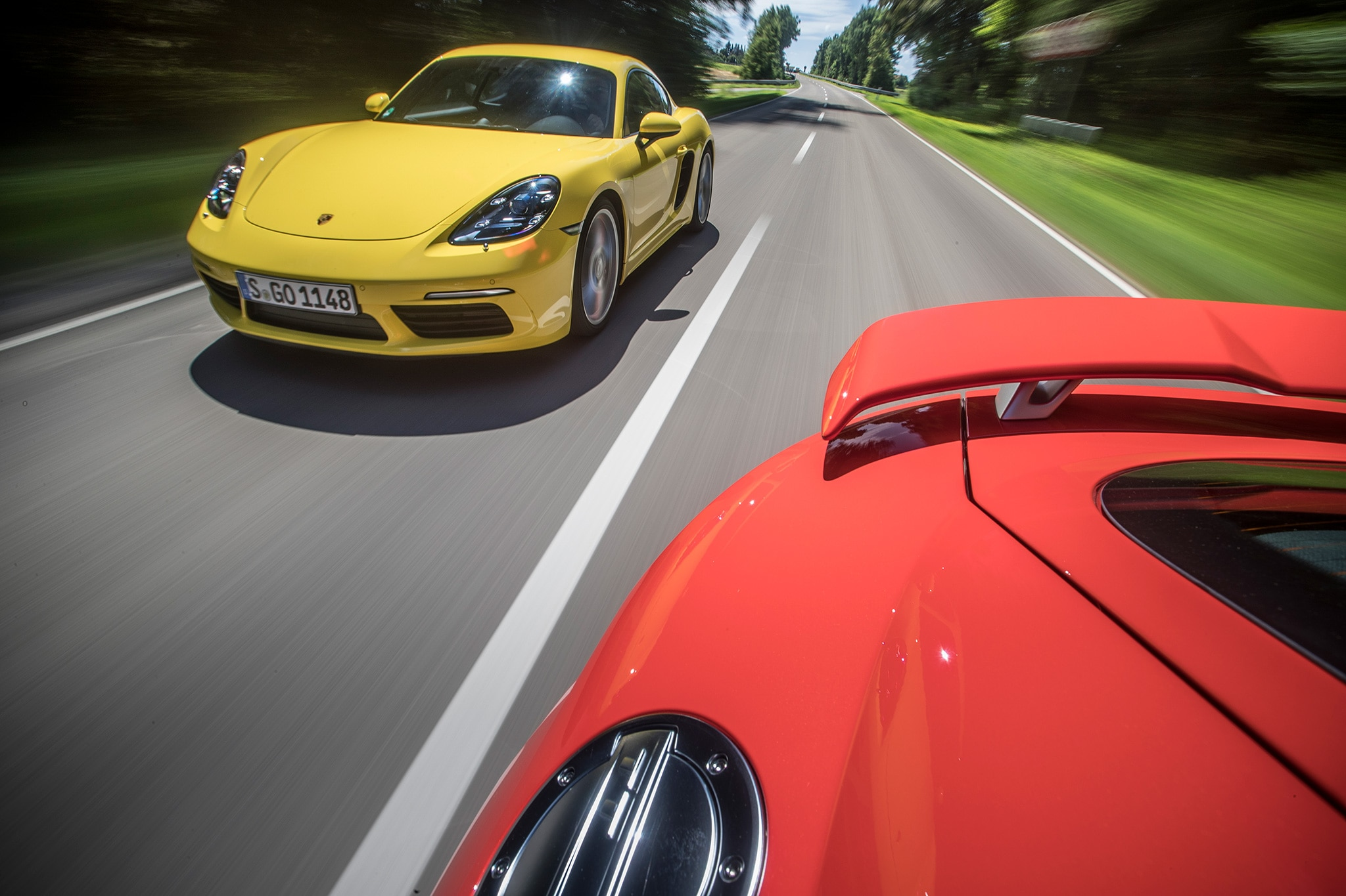 2018 Audi TT RS Vs 2017 Porsche Cayman S 08