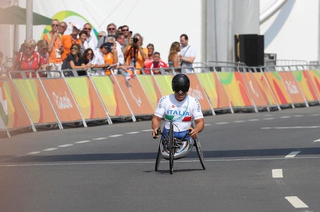 Alex Zanardi Rio 2016 Paralympics Hand Cycling