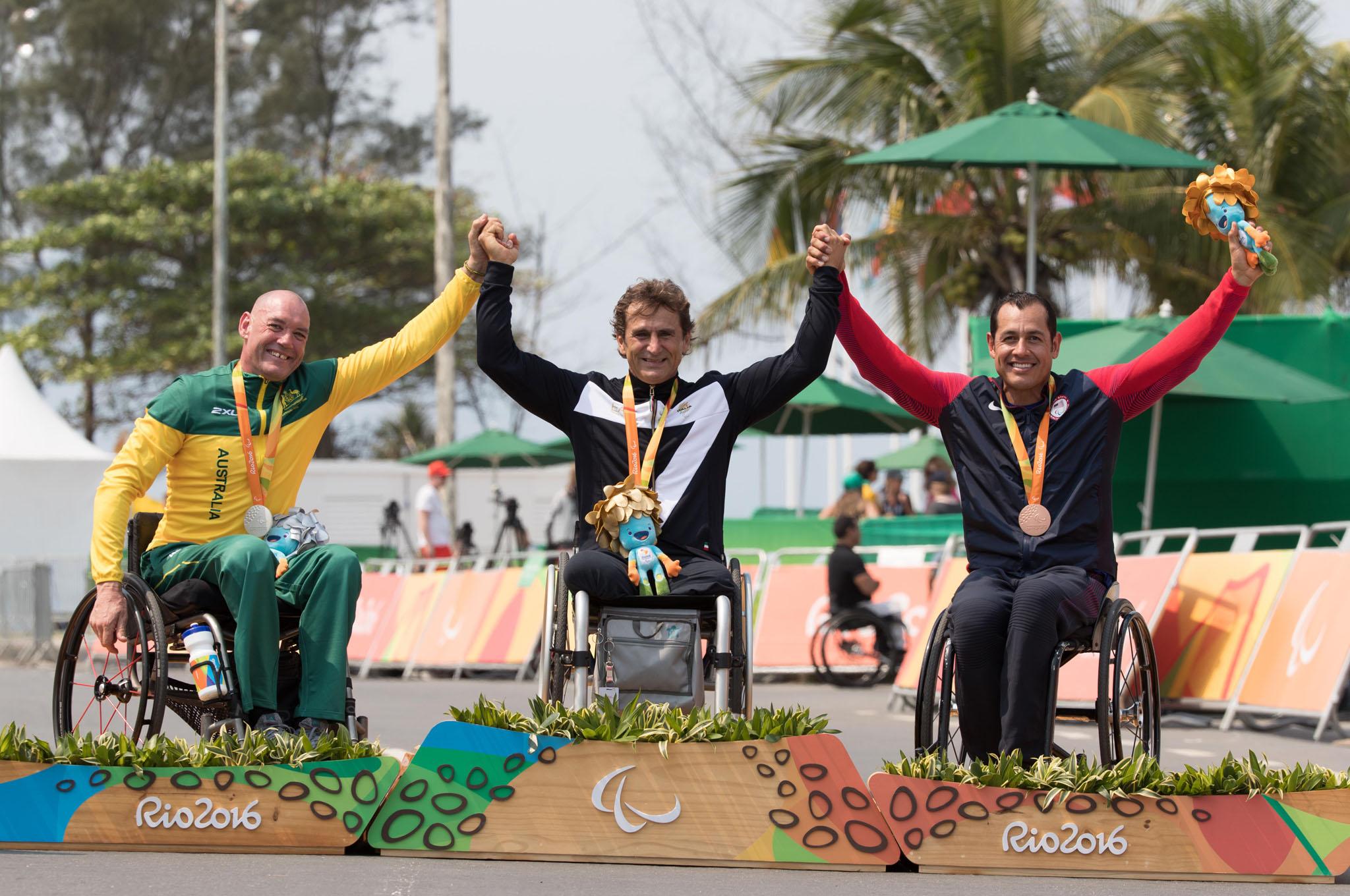 Alex Zanardi Rio 2016 Paralympics