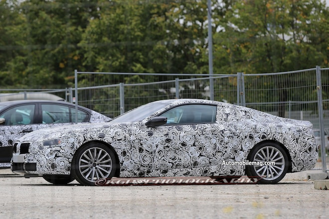 BMW 8 Series Spy Photos 03