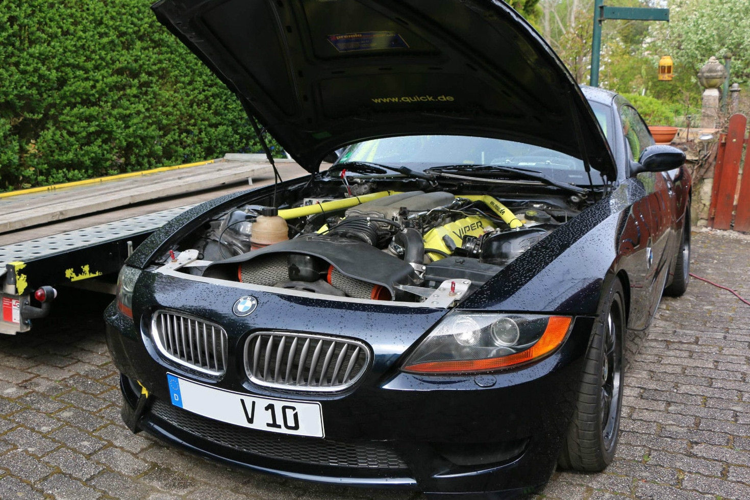 Just Listed Bmw Z4 Coupe With 8 3 Liter Viper V 10 Swap