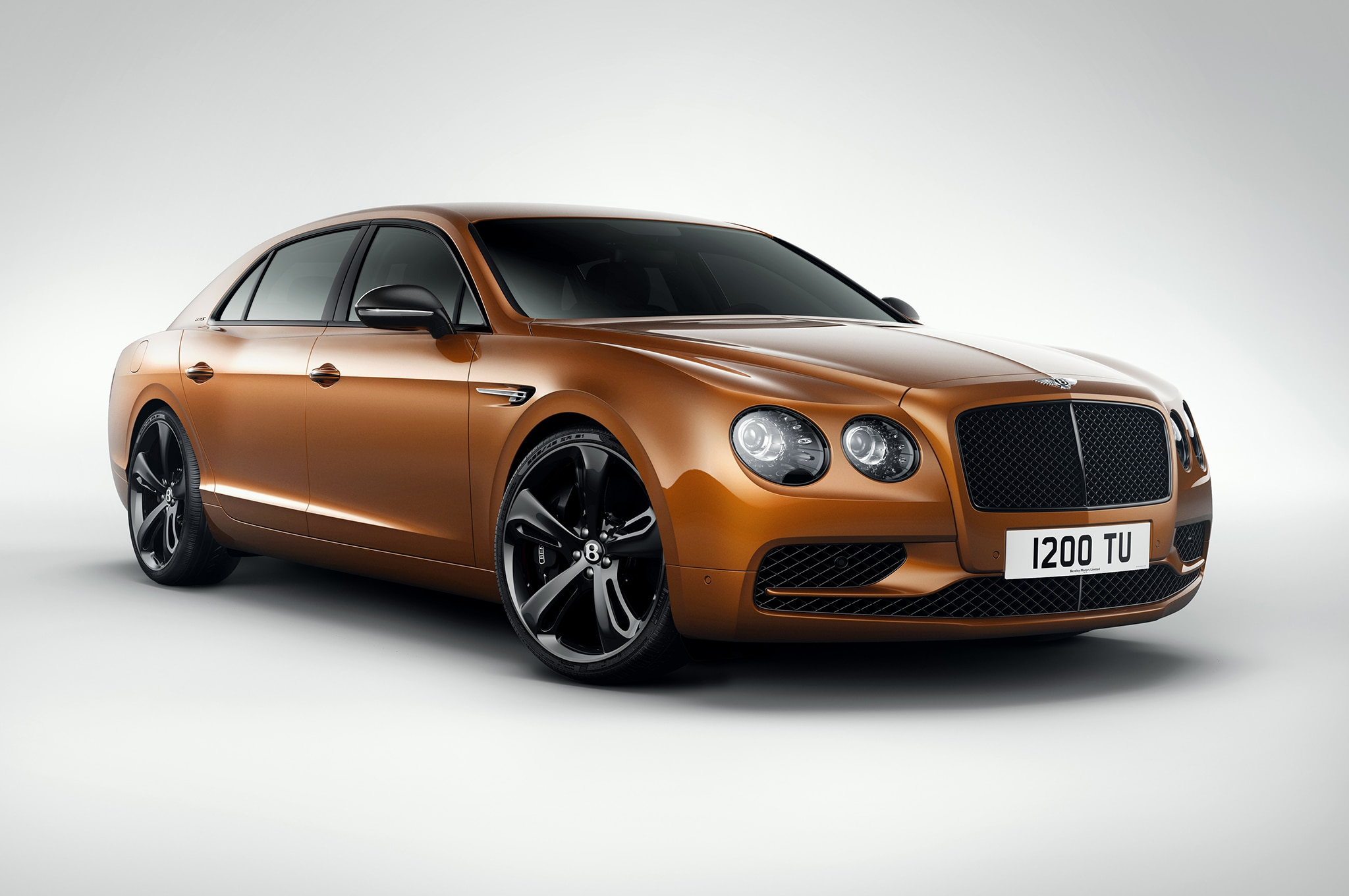 Bentley Flying Spur W12 S Front Three Quarter