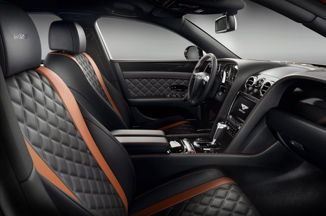 Bentley Flying Spur W12 S interior
