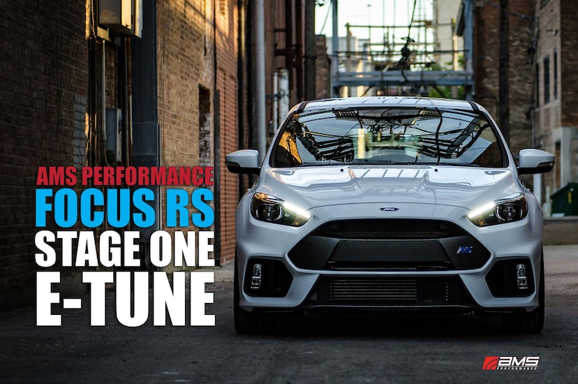 Ford Focus RS Gets AMS Performance Tune to 410 HP
