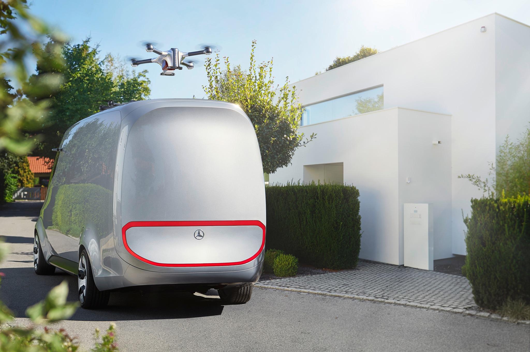 Electric Mercedes-Benz Vision Van Concept Set for Paris Show ...