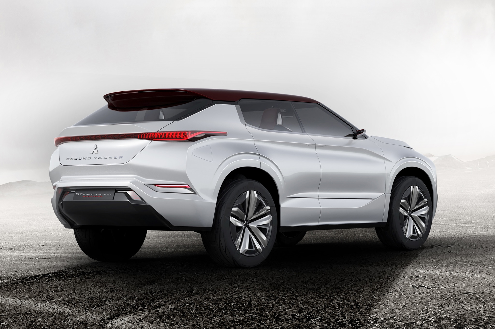 Mitsubishi GT PHEV Concept Rear Three Quarter 1
