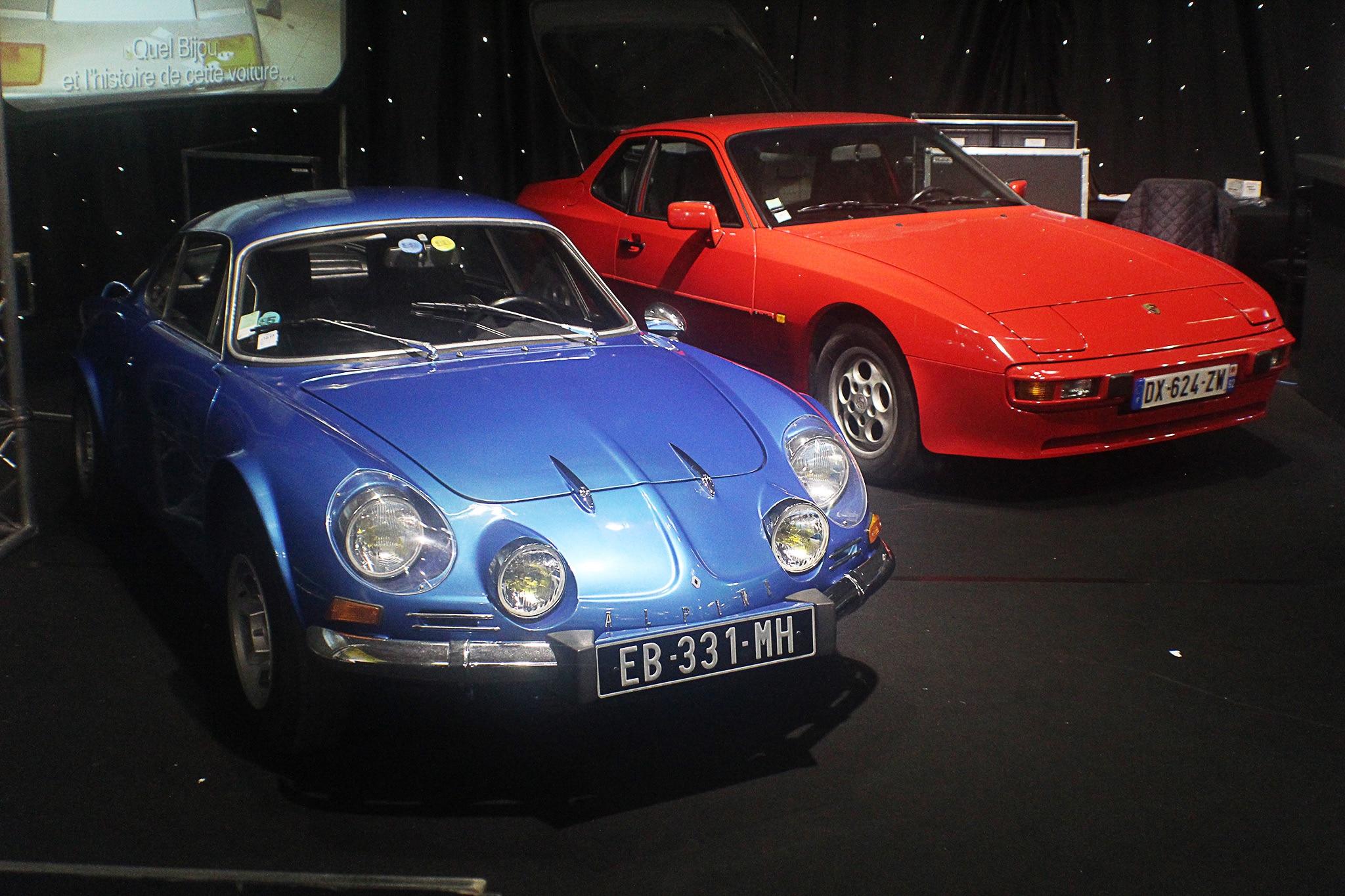 1976 Alpine 1600 SC And Porsche 944 Paris Coys Auction