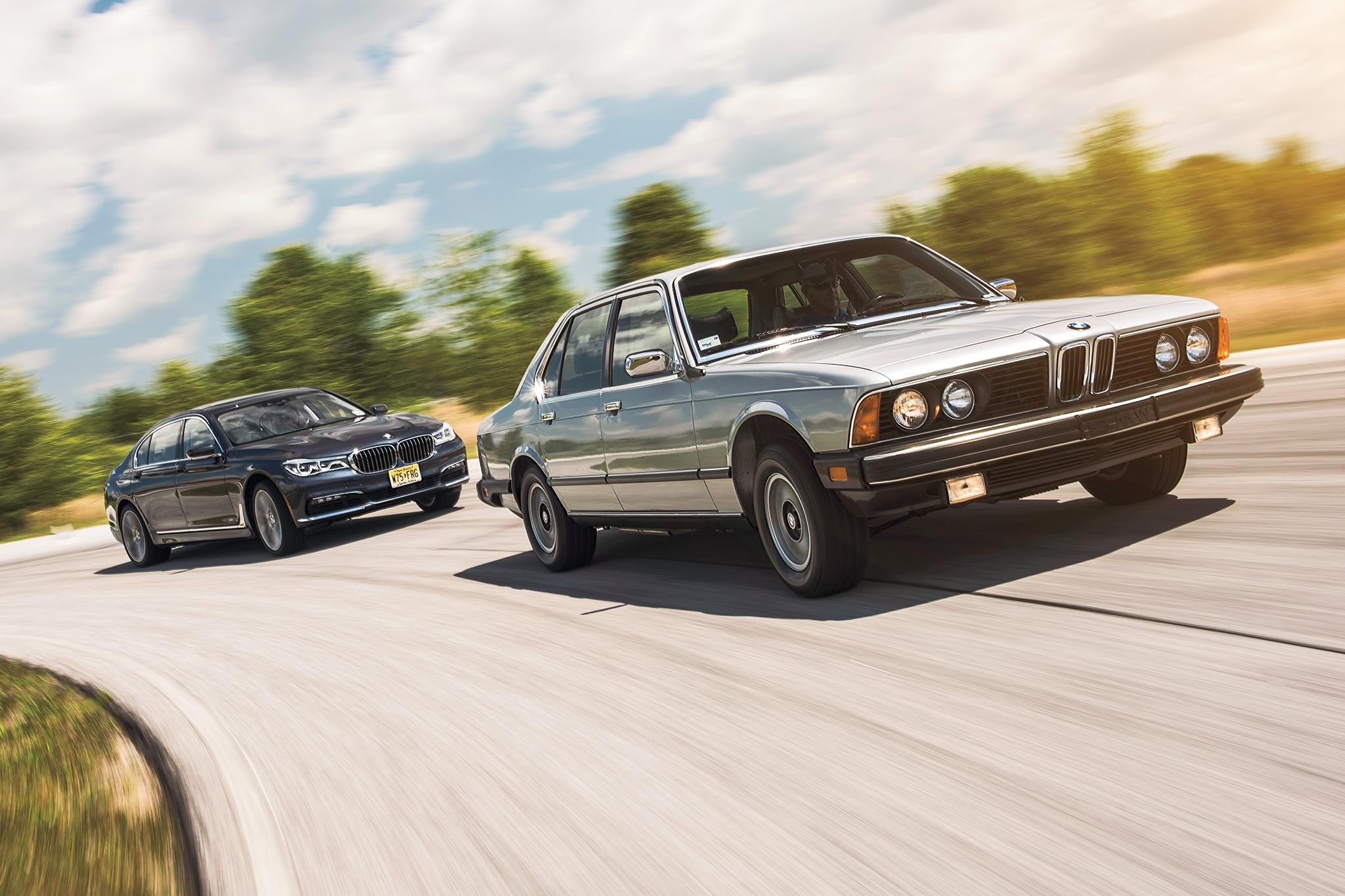 1978 BMW 733i Vs 2016 BMW 750i XDrive 02