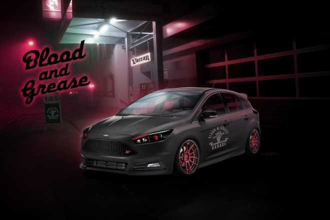 2016 Ford Blood and Grease Focus ST 1