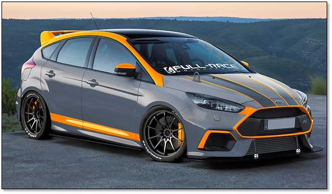2016 Ford FULLRACE Focus RS