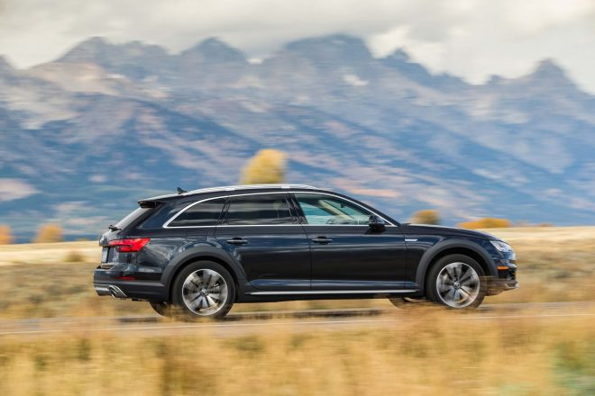 2017 Audi A4 Allroad rear side in motion