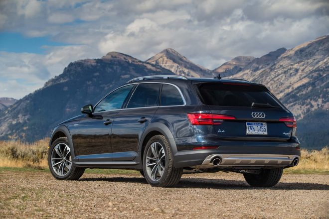 2017 Audi A4 Allroad rear three quarter 06