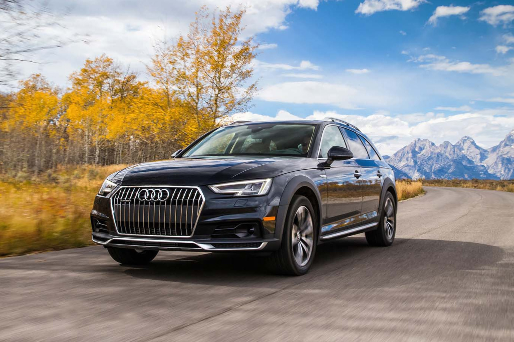 2017 audi a4 allroad first drive review automobile magazine. Black Bedroom Furniture Sets. Home Design Ideas
