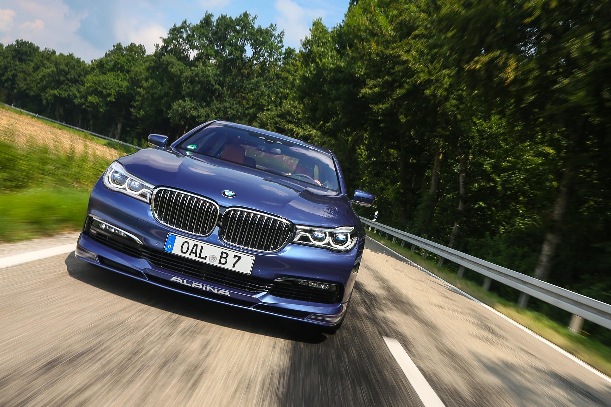 BMW Alpina B XDrive One Week Review Automobile Magazine - Alpina b7 xdrive
