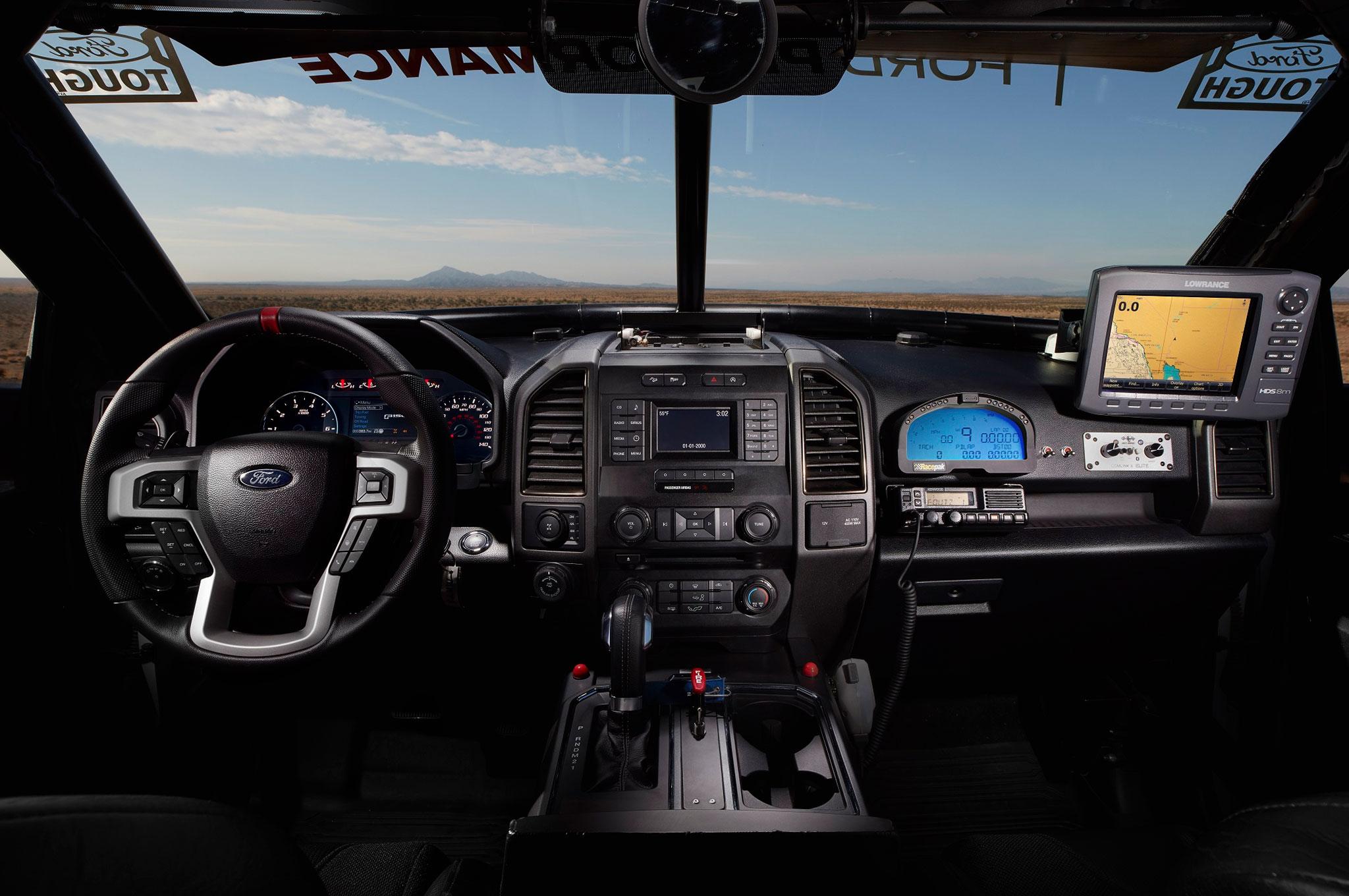 First Drive 2017 Ford F 150 Raptor Automobile Magazine Circuit Board Pickup Truck Bronco Interior Dash Instrument Show More