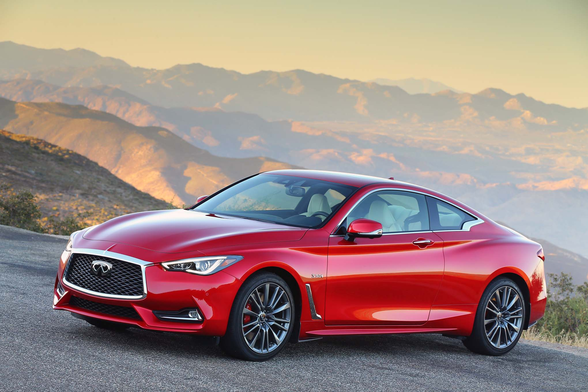 2017 Infiniti Q60 Red Sport 400 First Drive Review Automobile Magazine