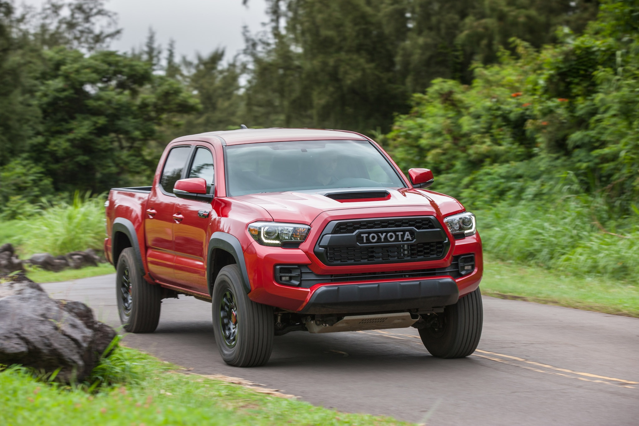 2017 Toyota Tacoma TRD Pro Front Moving