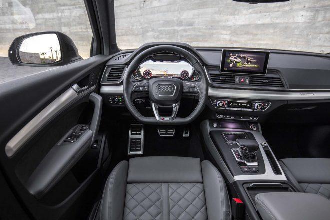 2018 Audi Q5 20 TFSI Euro Spec cockpit