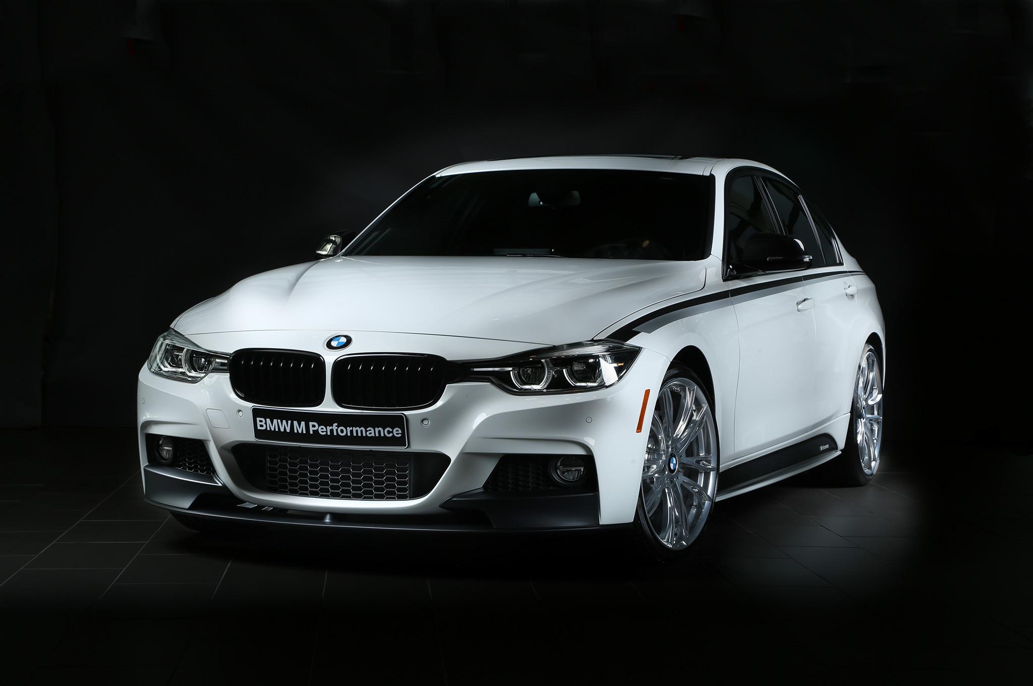 BMW 340i SEMA M Performance Front Three Quarters