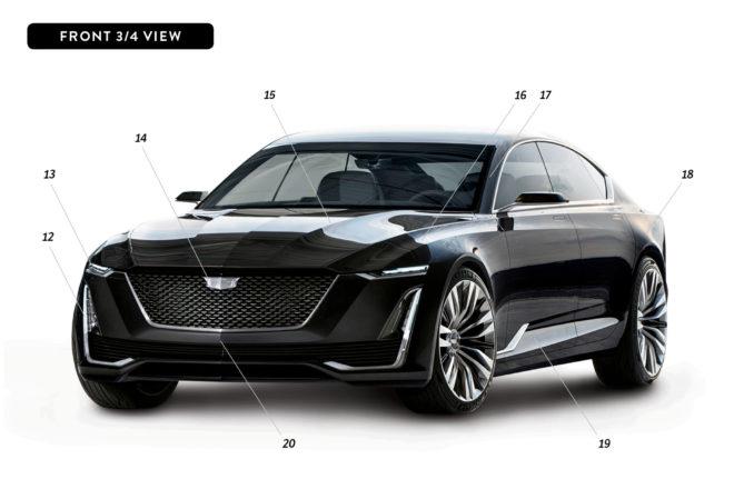 By Design Cadillac Escala front three quarter 1