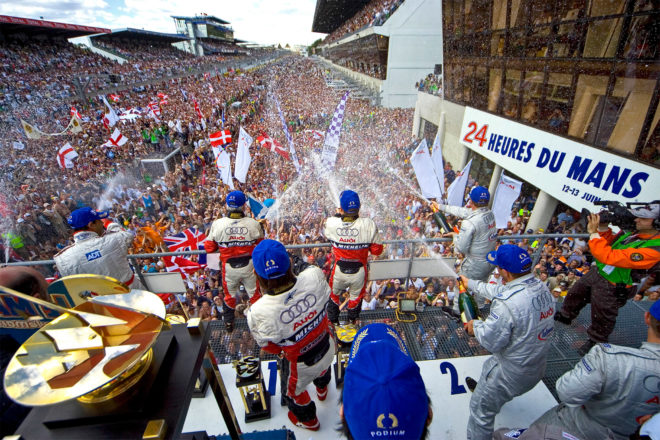 LM24 podium lead photo