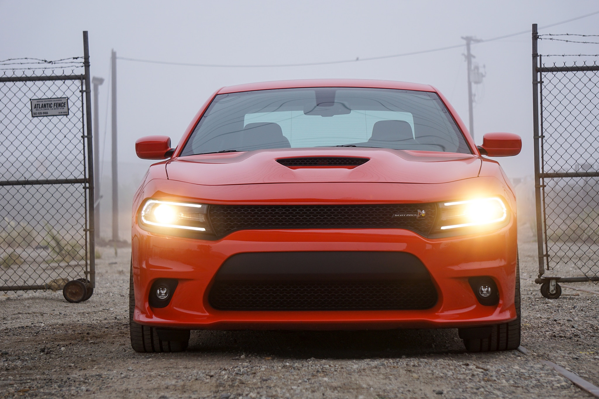 2016 Dodge Charger R T Scat Pack Front View