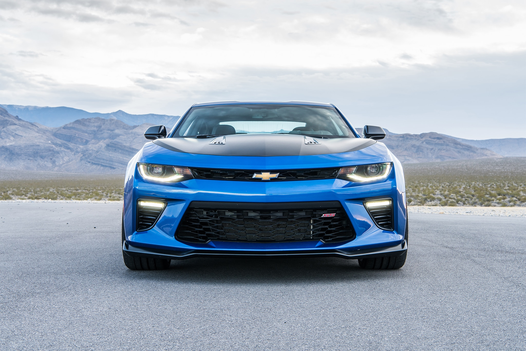 Image result for blue camaro ss front end