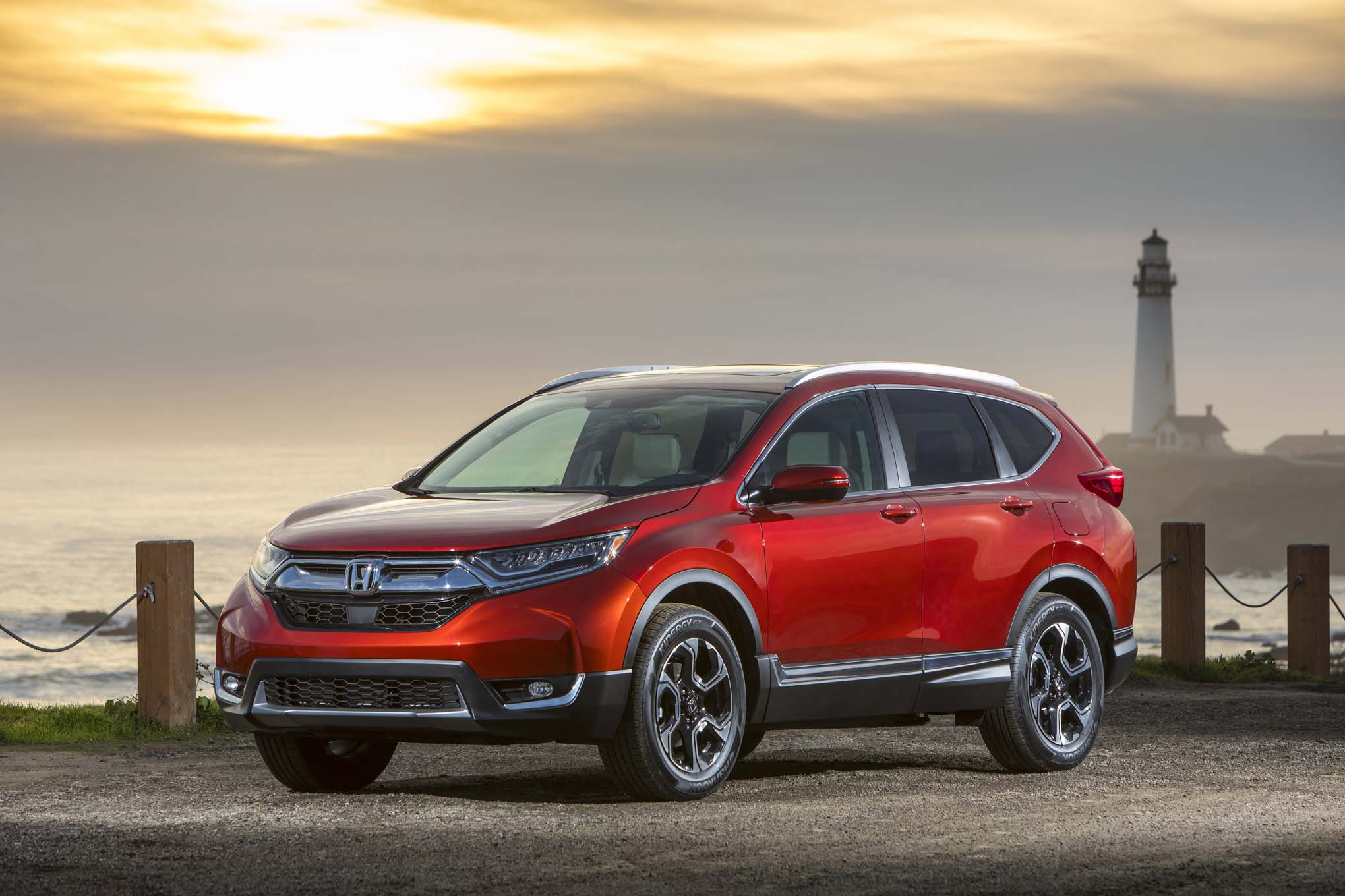 2017 honda cr v touring first drive review automobile for Is a honda crv a suv