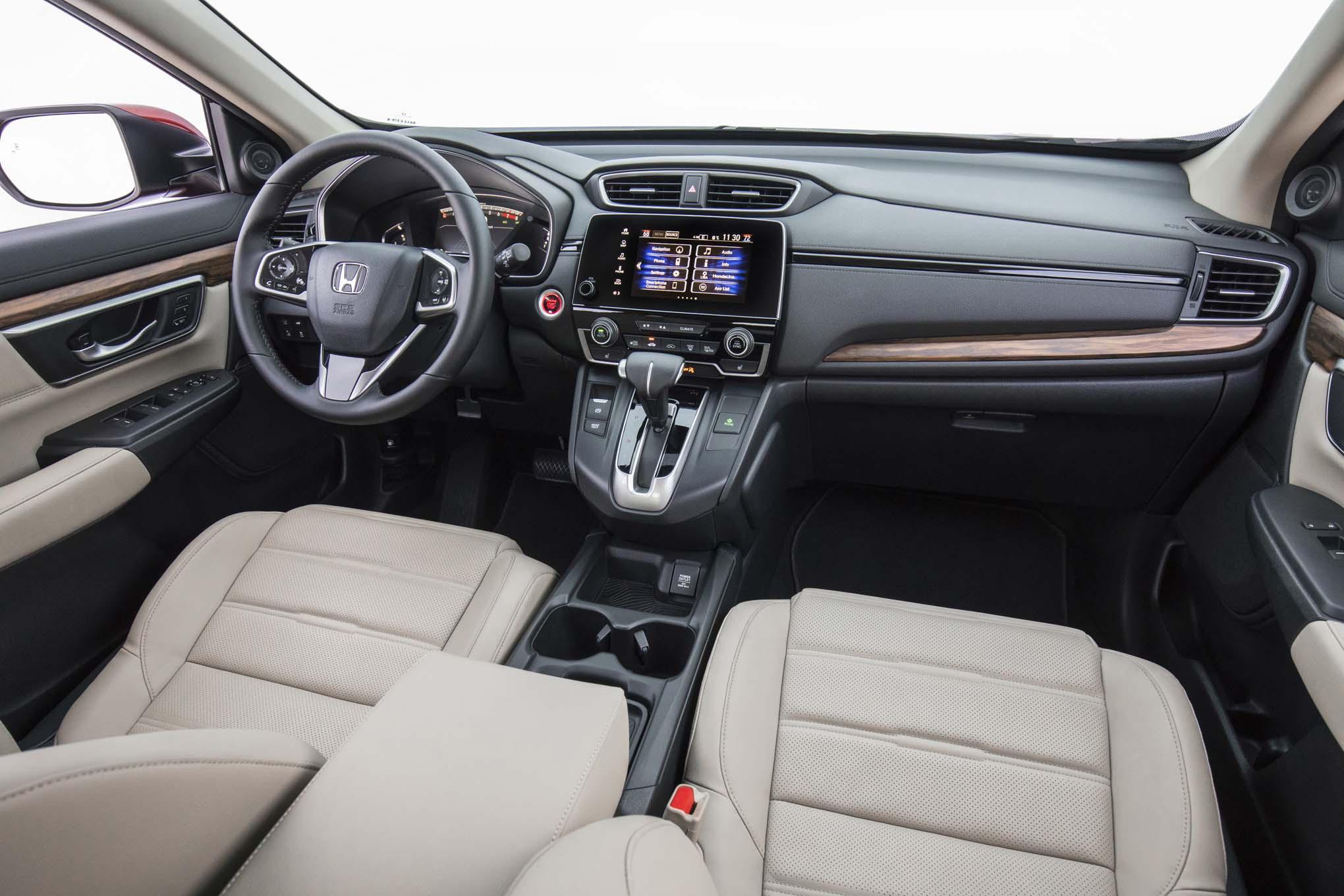 2017 Honda Cr V Touring First Drive Review Automobile Magazine