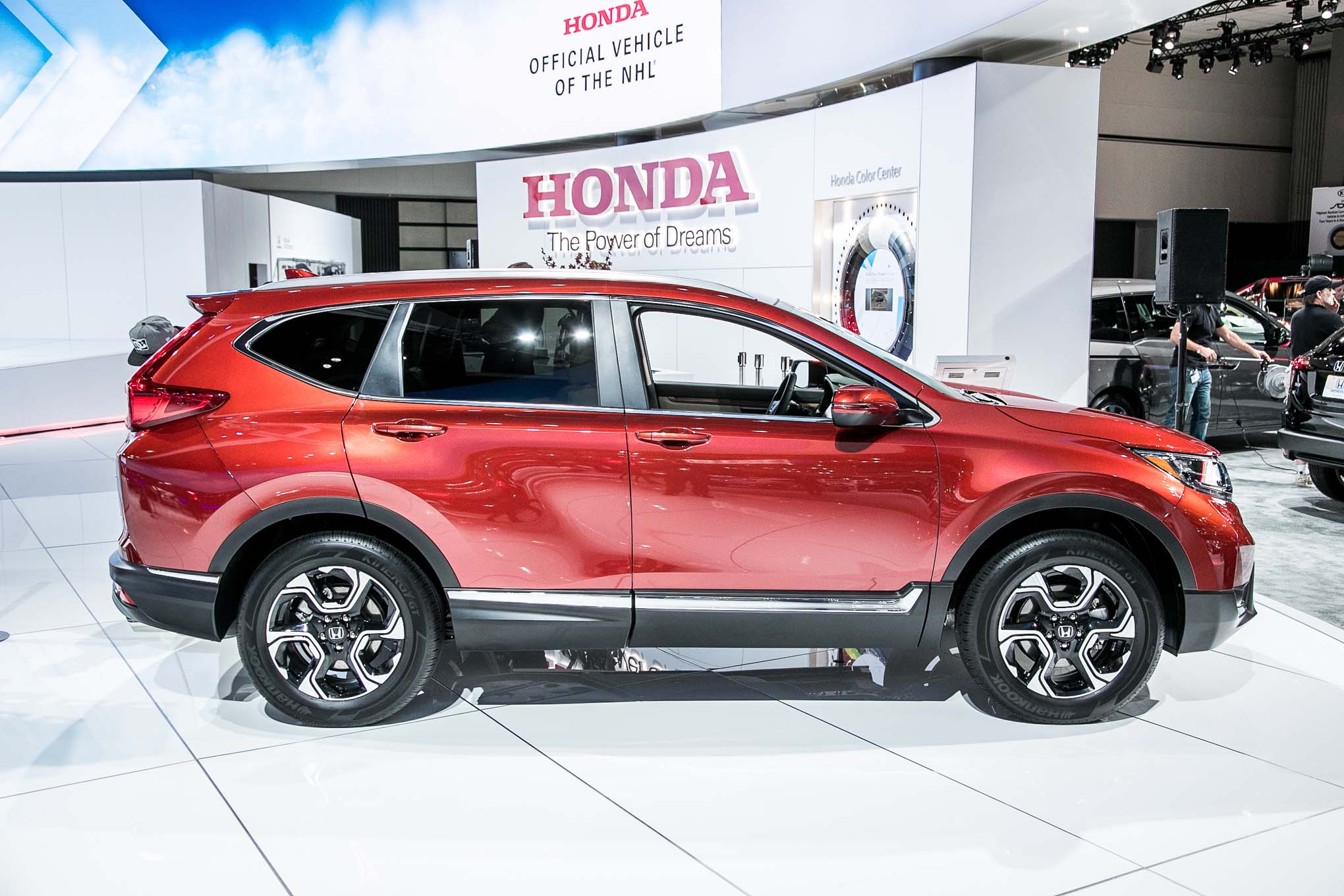 The 2017 Honda Cr V Goes On This Winter Kelly Pleskot