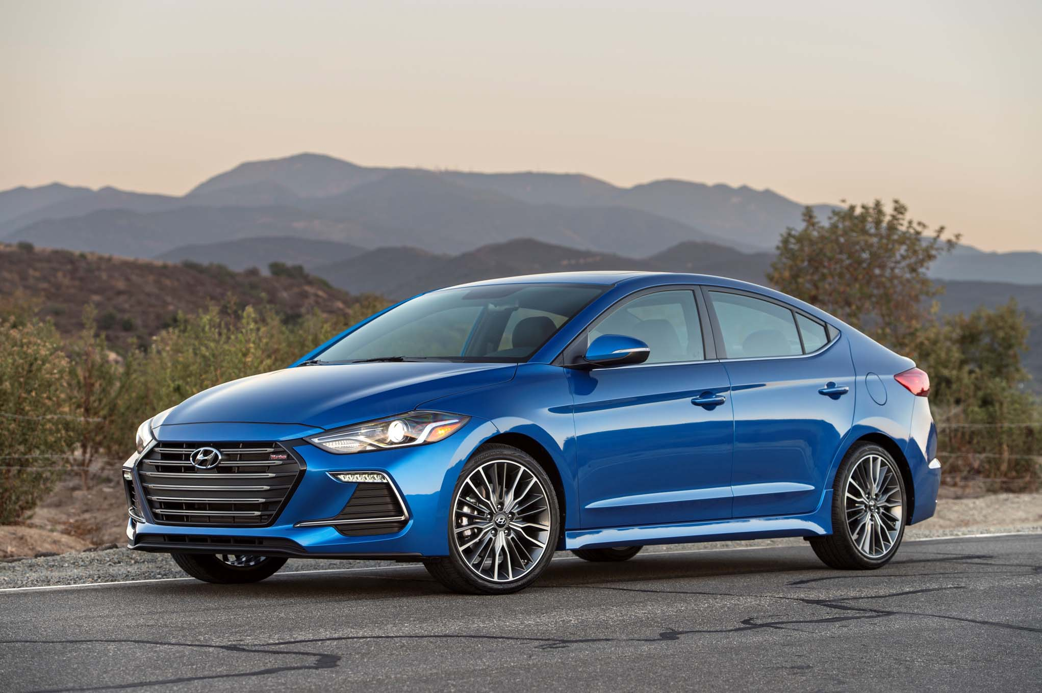 We Started Behind The Wheel Of A 2017 Hyundai Elantra Sport Premium