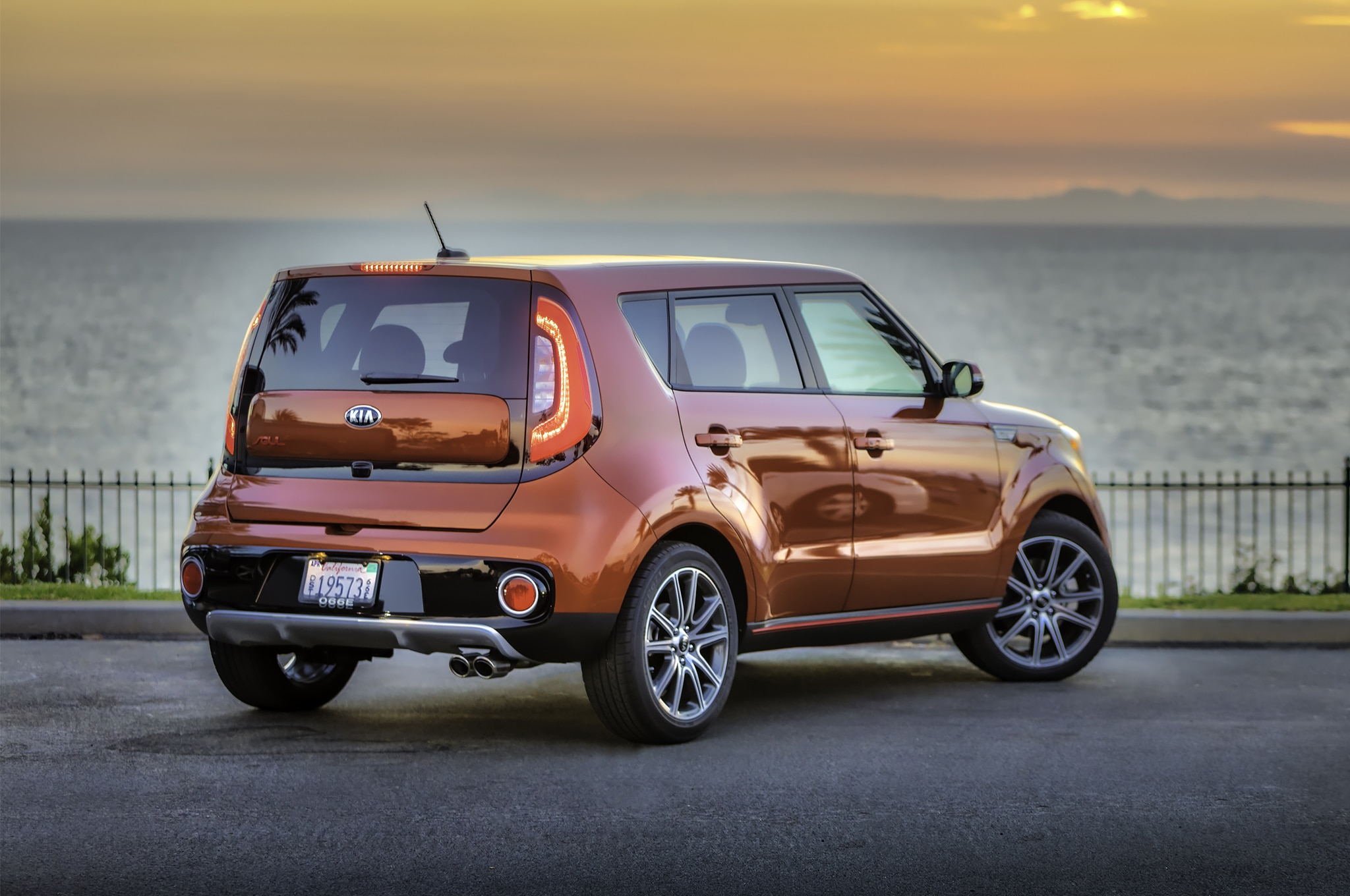 2017 Kia Soul Turbo rear three quarter