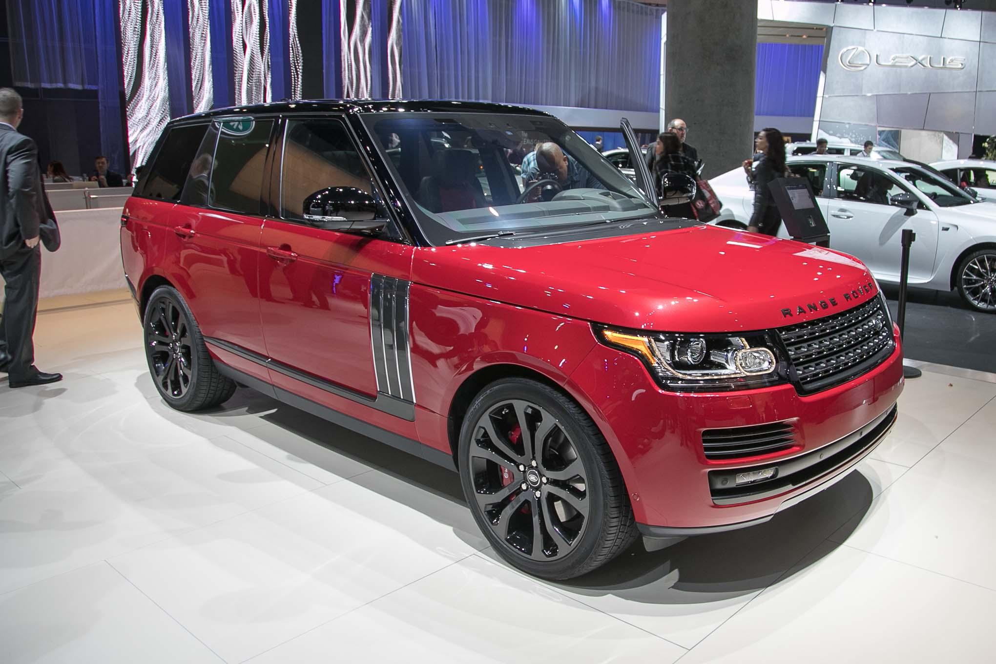 2018 Range Rover SV Autobiography Dynamic >> 2017 Range Rover Svautobiography Dynamic First Drive Review
