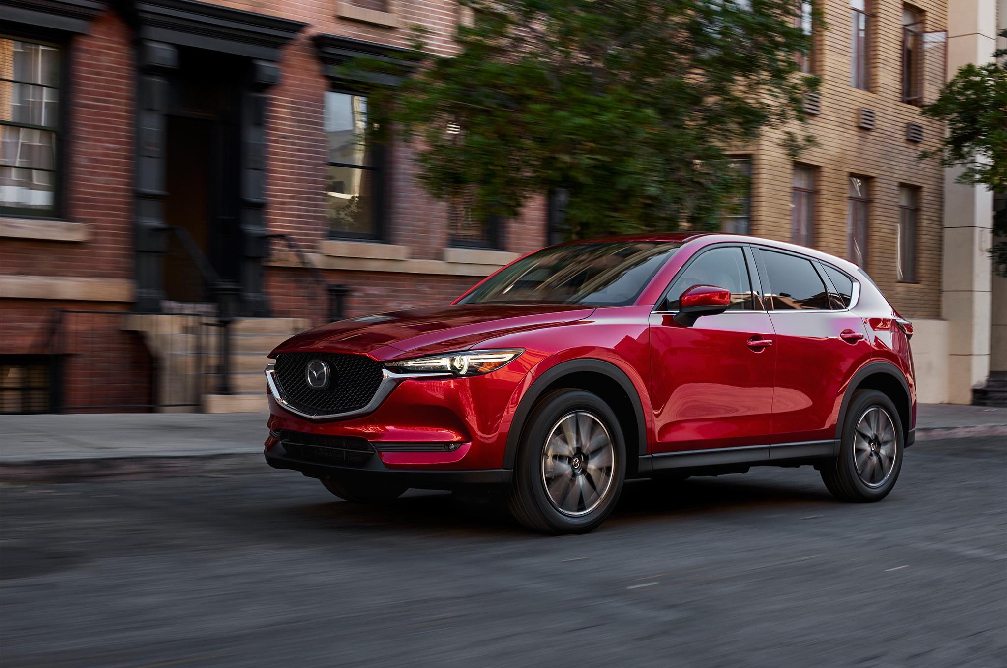 2017 Mazda CX 5 Front Three Quarter In Motion 1