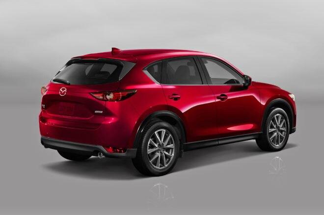 2017 Mazda CX 5 rear three quarter