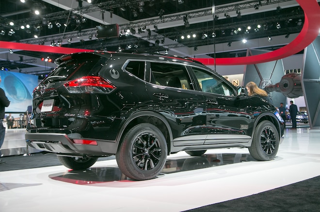 2017 Nissan Rogue Rogue One Star Wars Limited Edition Rear Three Quarters