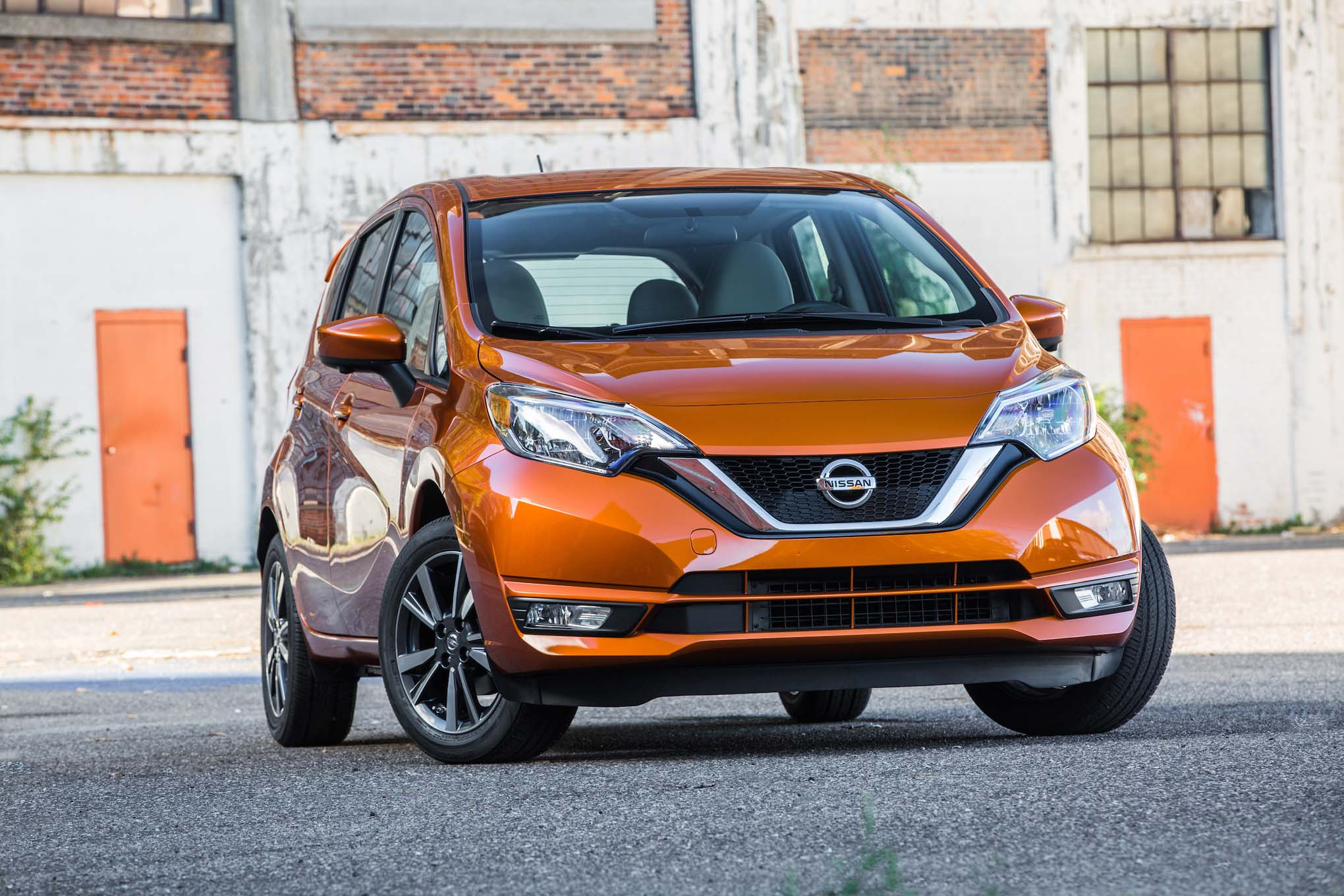 2017 Nissan Versa Note Front End 1
