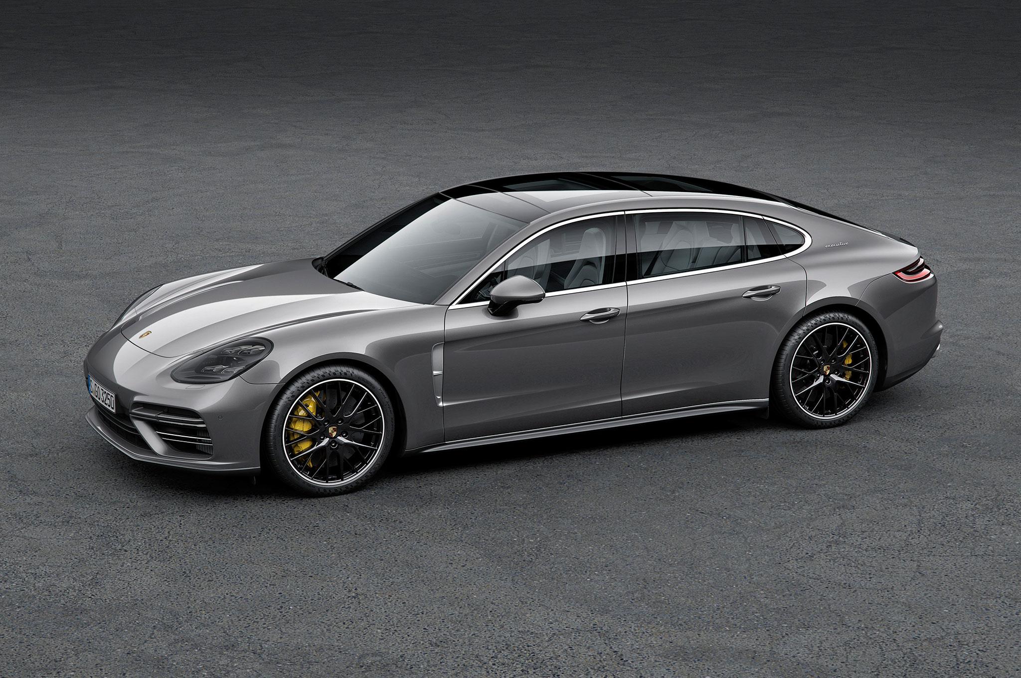 2017 Porsche Panamera Gains Long Wheelbase Executive Variants