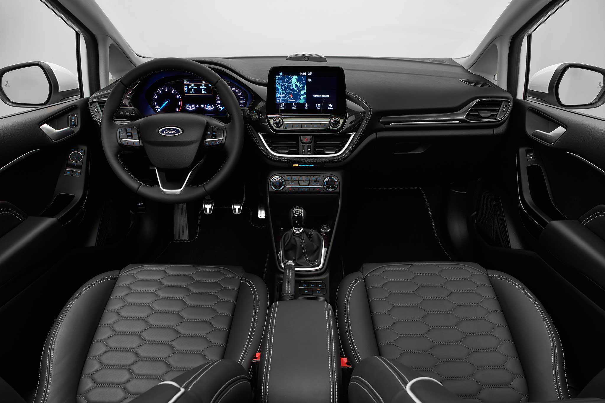 2018 ford fiesta debuts in germany automobile magazine. Black Bedroom Furniture Sets. Home Design Ideas