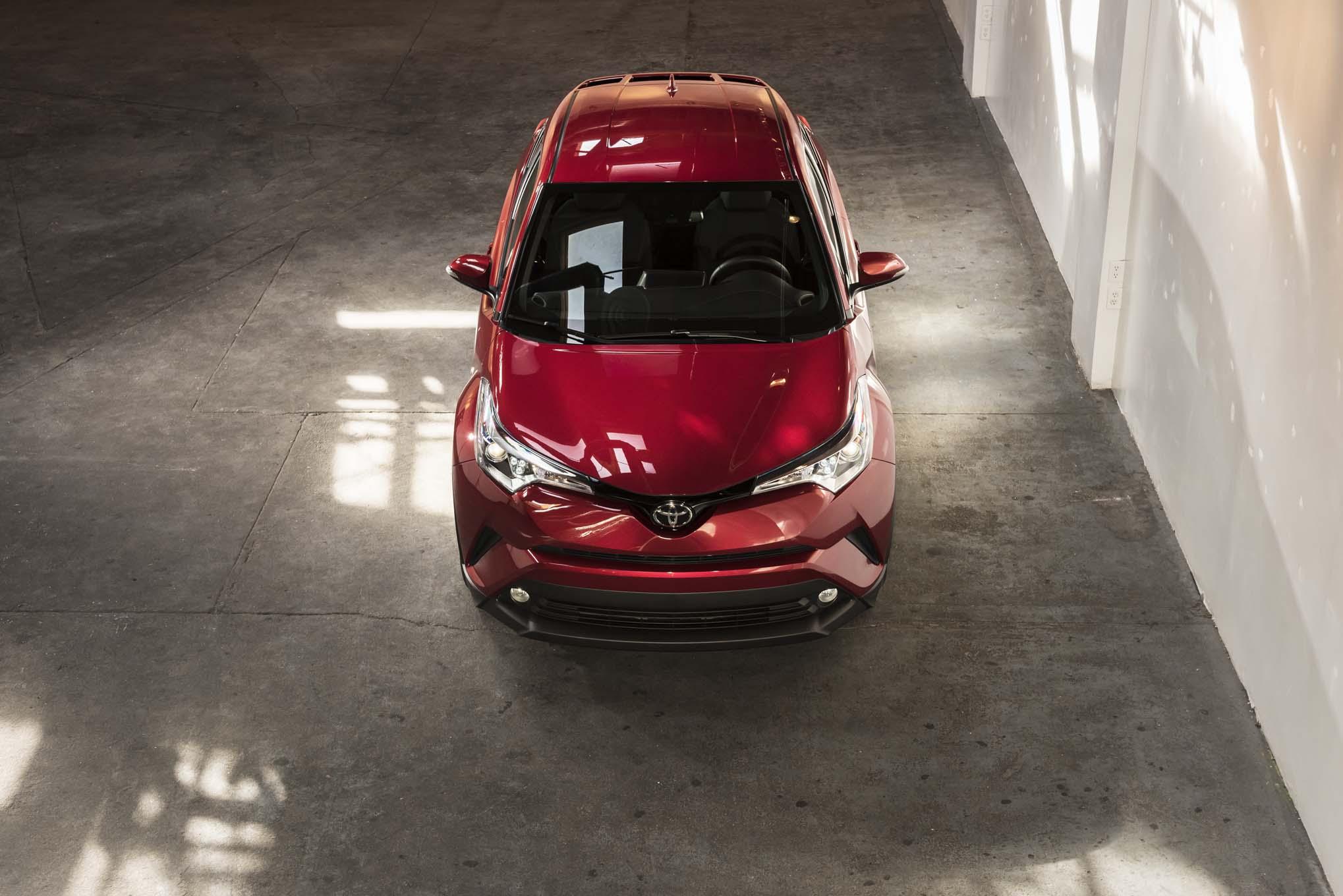 U S Spec 2018 Toyota C HR Makes 2016 LA Auto Show Debut
