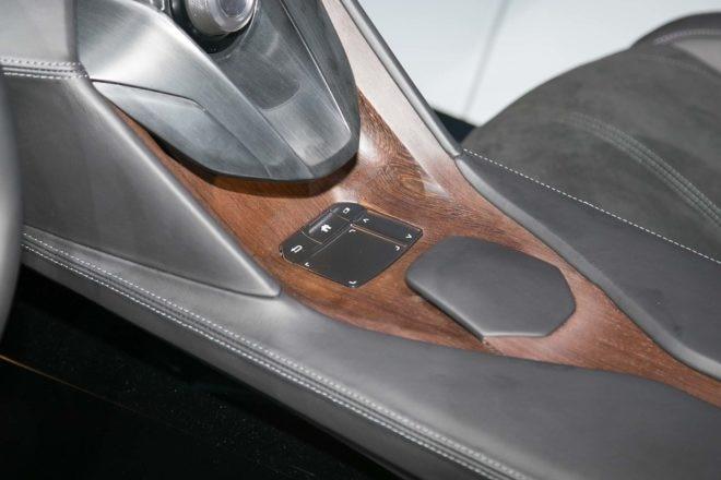 Acura Precision Cockpit concept center console