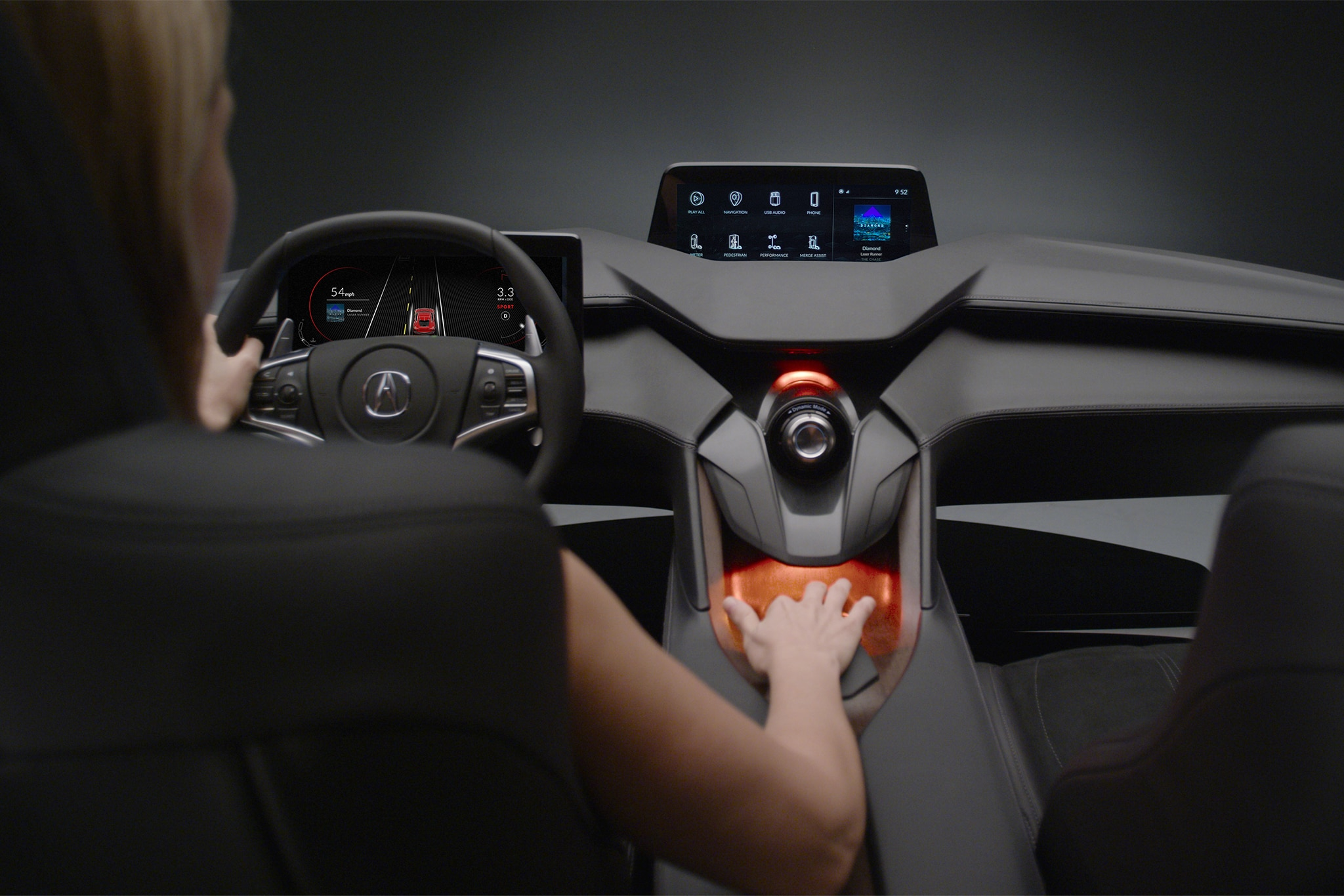 acura unveils its interior of the future