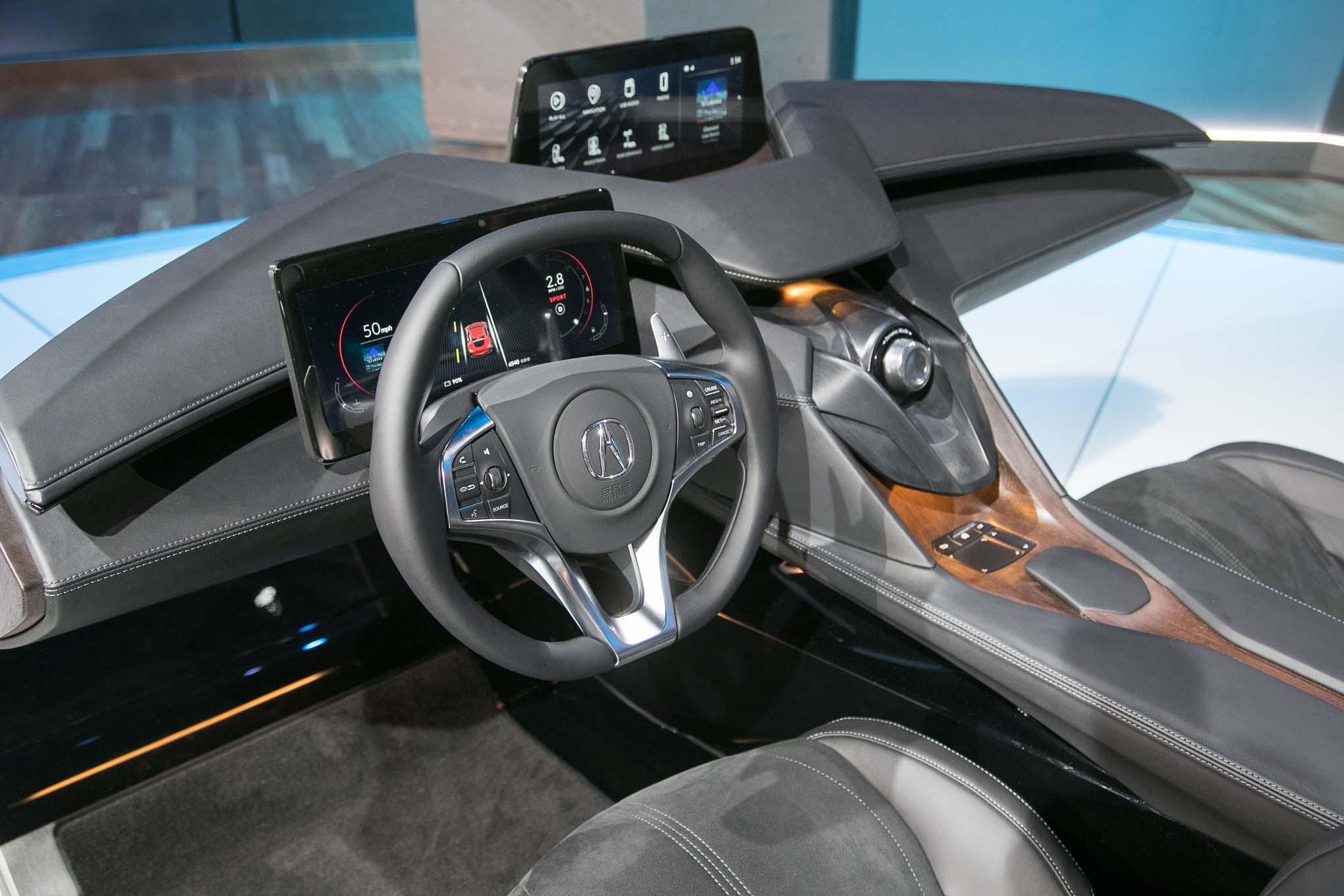 Acura Unveils Its Interior of the Future | Automobile Magazine