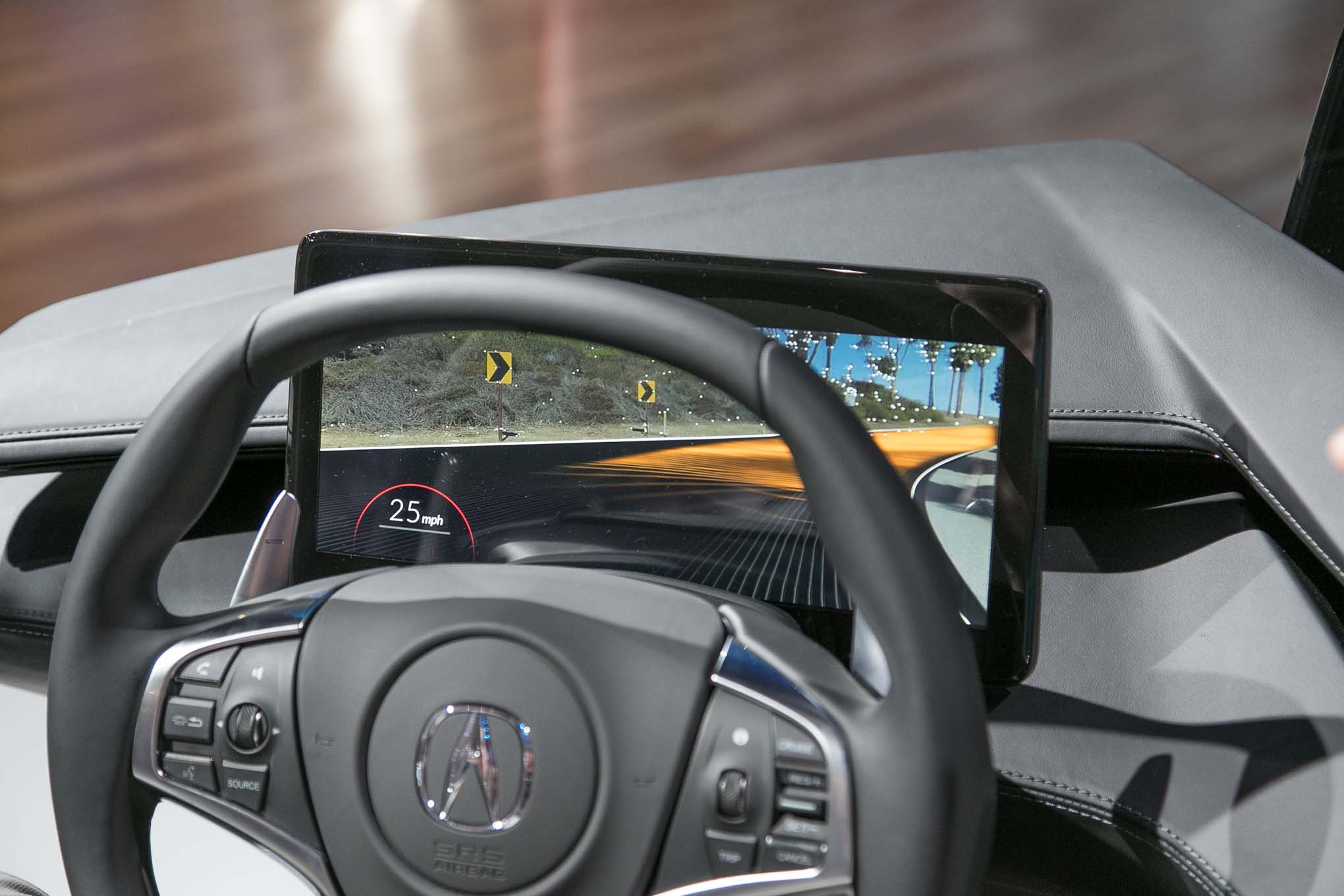Acura Unveils Its Interior of the Future   Automobile Magazine