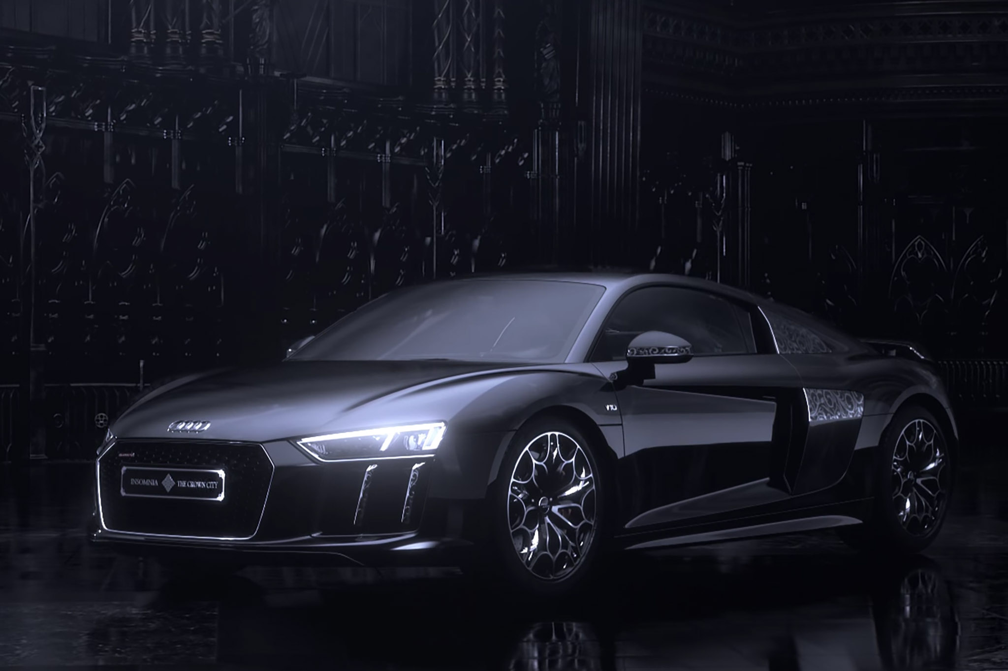 """Audi Debuts Limited Edition """"Star of Lucis"""" R8 for Japan 