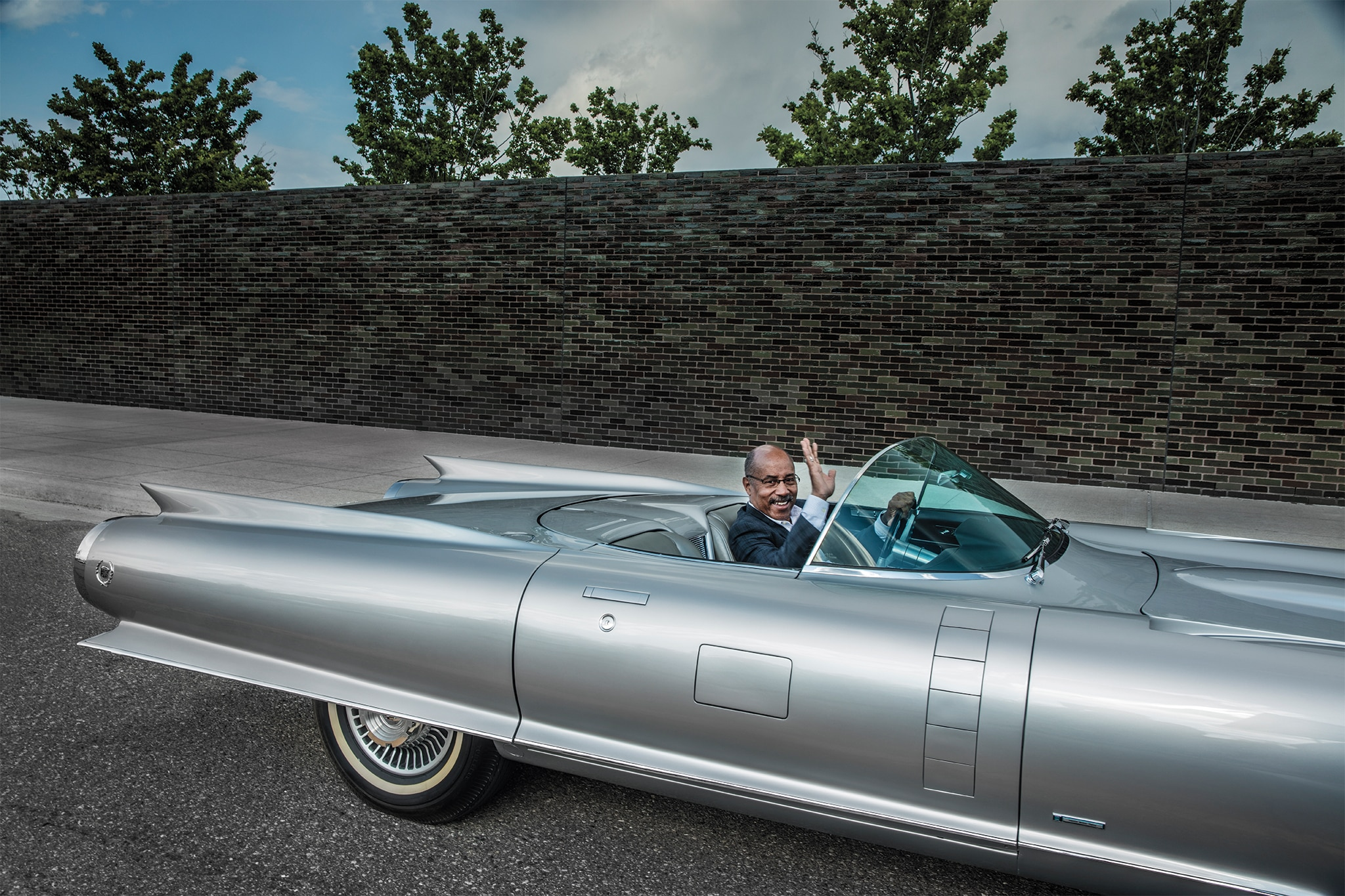 Ed Welburn Drives the Cadillac Cyclone | Automobile Magazine
