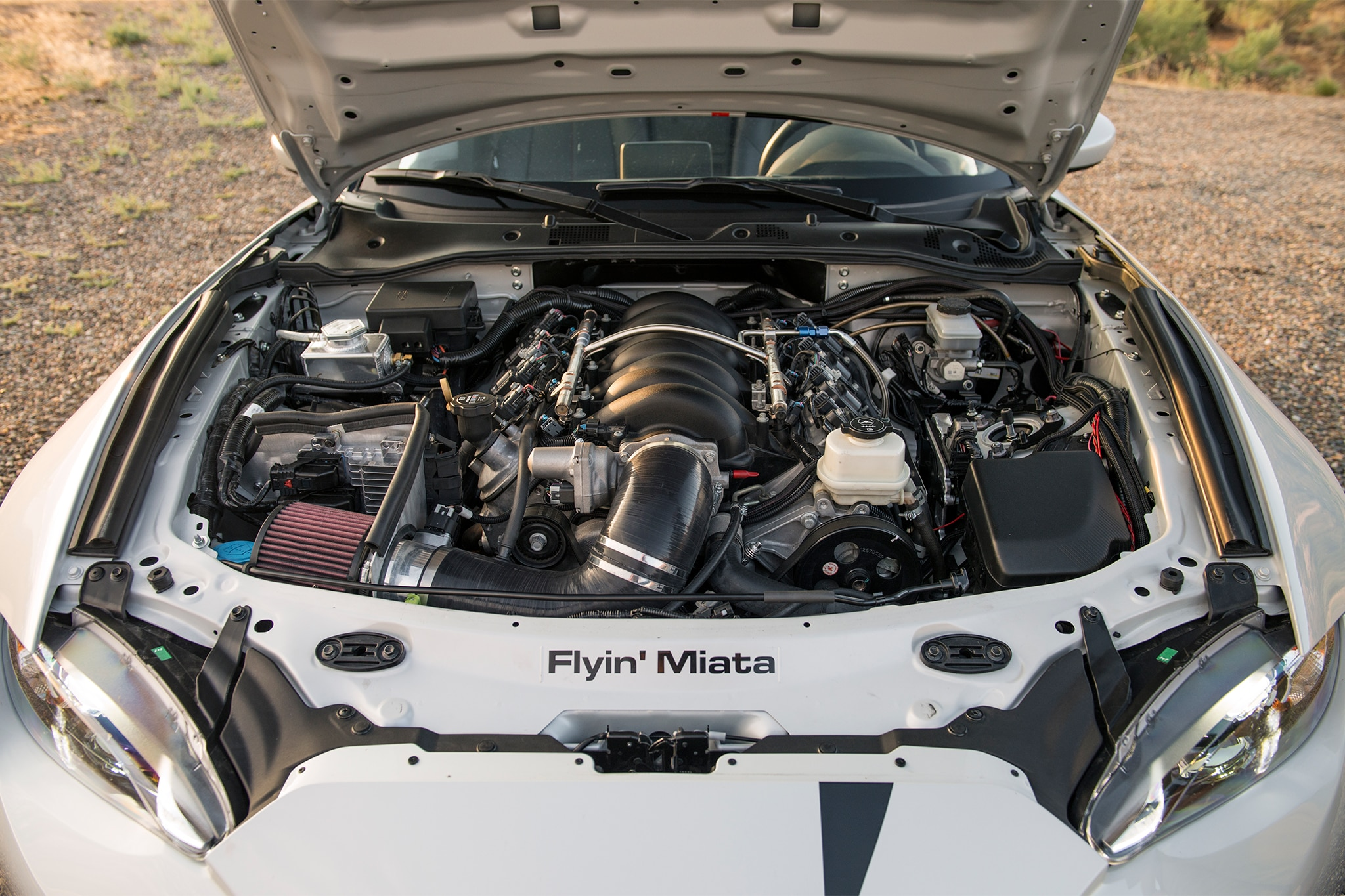 Exclusive First Drive: Flyin' Miata's V-8-Powered 2016 Mazda MX-5 ...