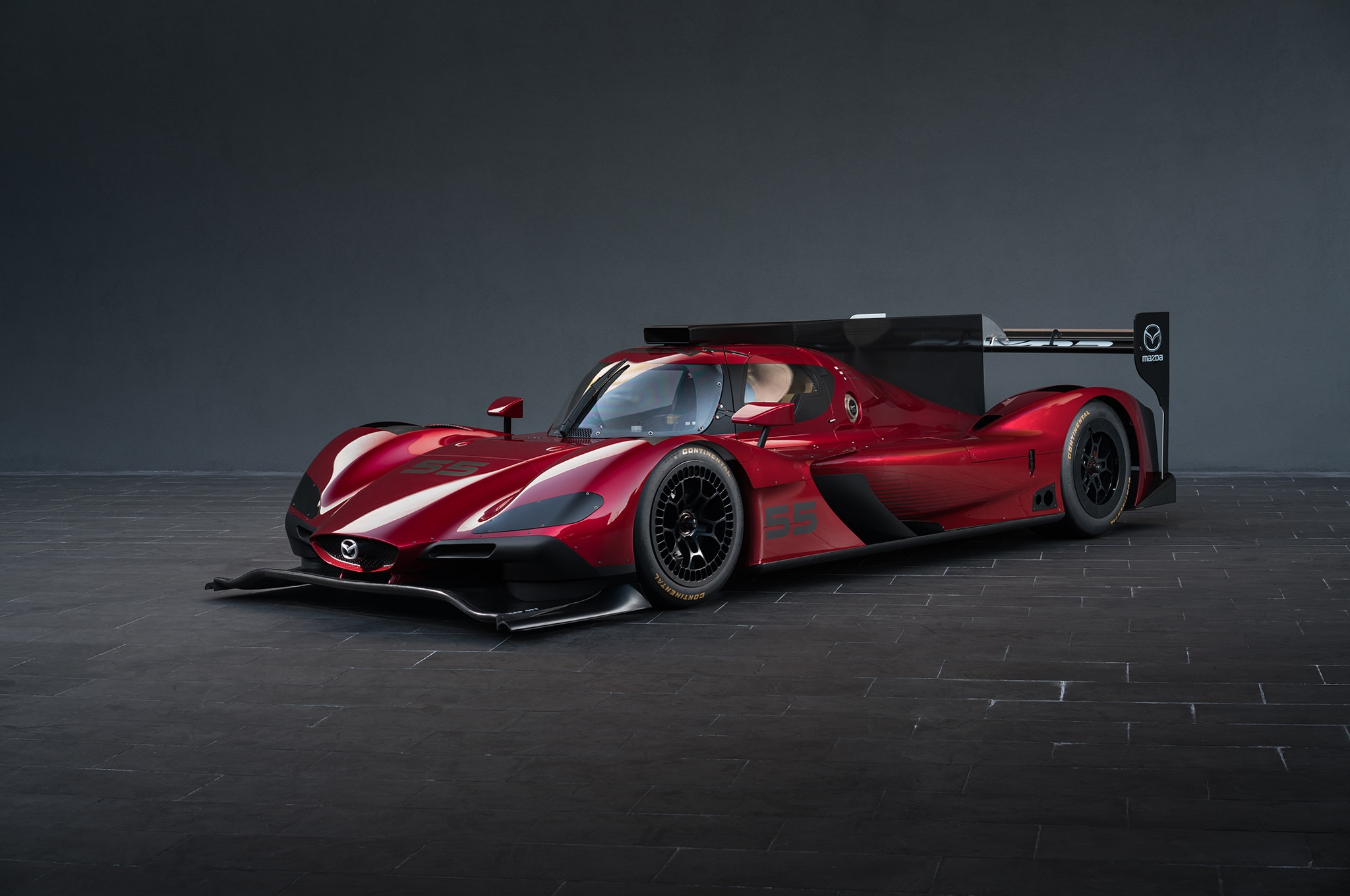 Mazda RT24 P Front Three Quarters