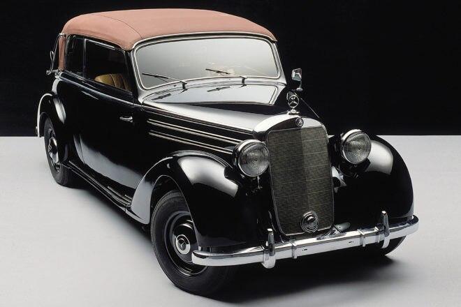 Mercedes Benz W136 W191 Front