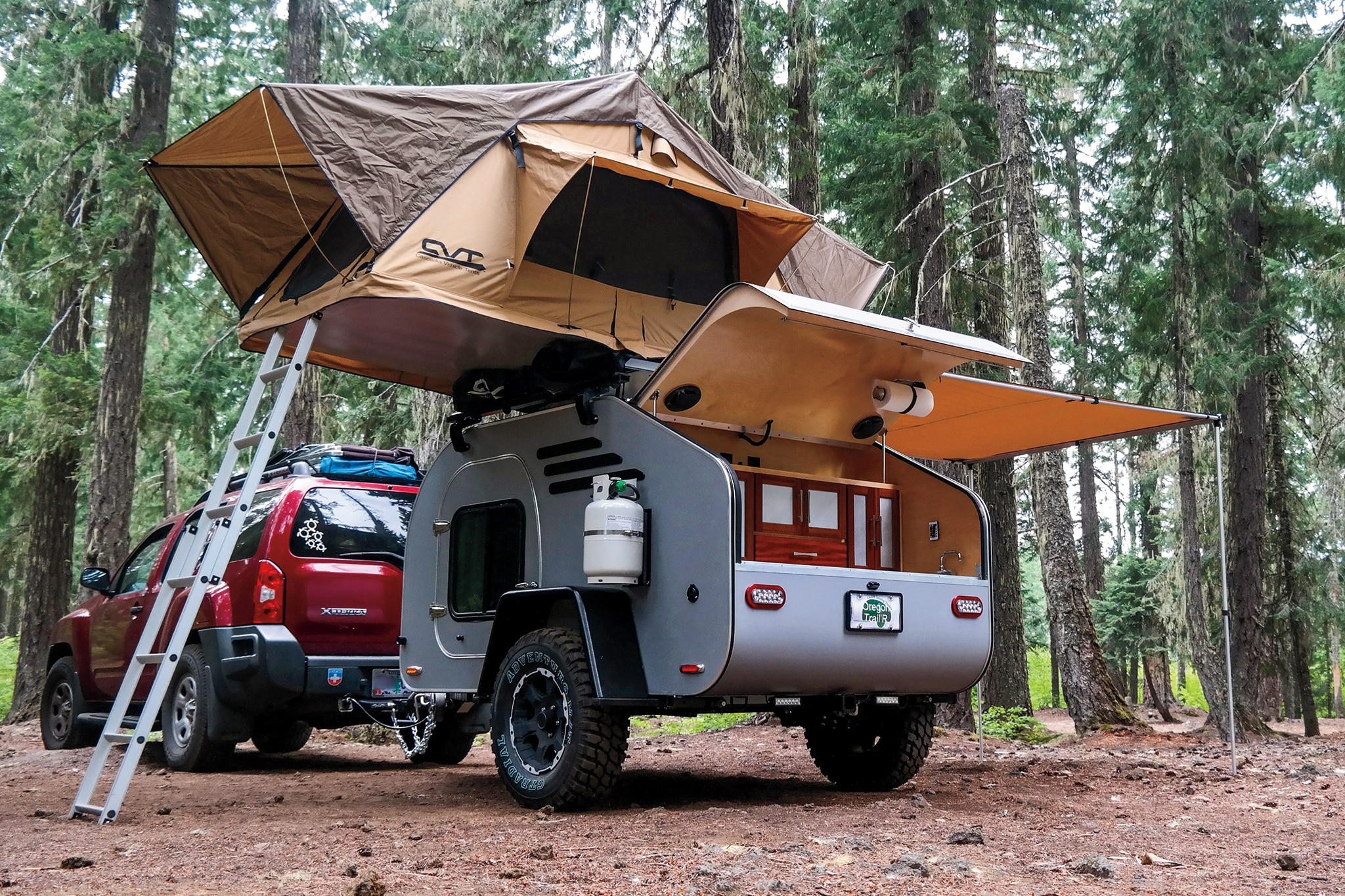 Beauty In Tow Lightweight Camper Roundup Automobile